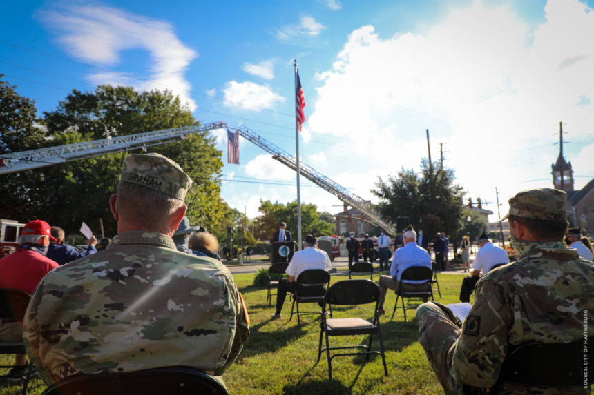 City of Hattiesburg Hosts 9/11 Ceremony