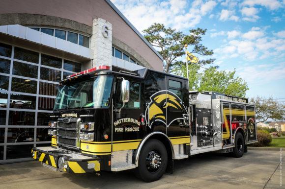 "Hattiesburg Fire Department Reveals Fleet Addition – ""Screaming Eagle"""