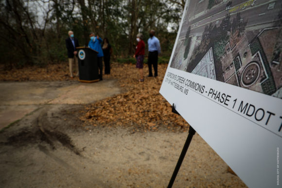 Hattiesburg Announces Gordon Creek Commons Development + $1.4M TAP Grant Funding