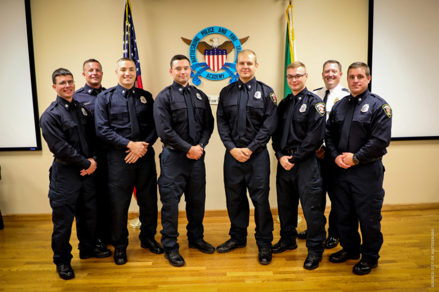 Six Graduate Hattiesburg's Fire Academy