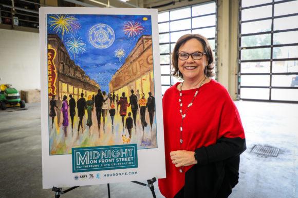 City of Hattiesburg & VisitHATTIESBURG host local artist Glenda Grubbs for Signing Event