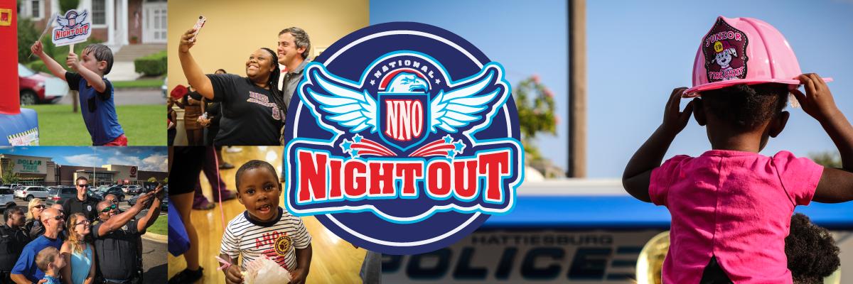 Hattiesburg Celebrates National Night Out Program - City of Hattiesburg