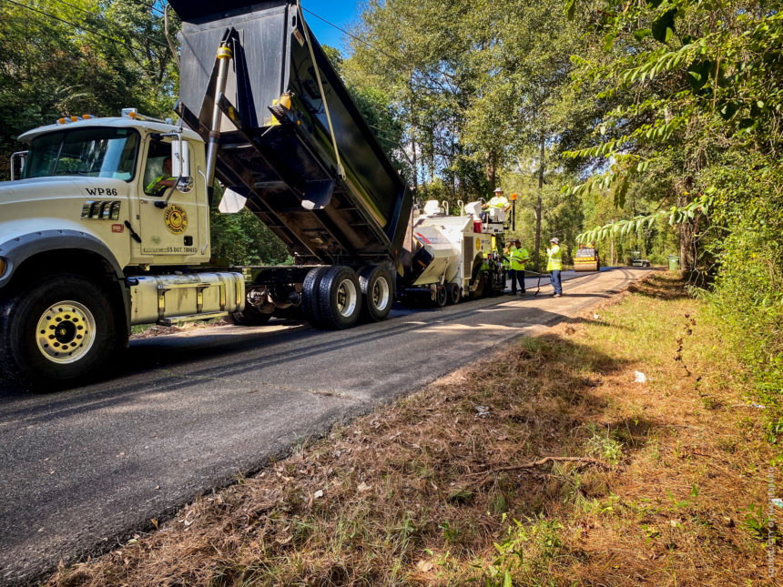 Hattiesburg Reaches Paving Milestone with Winter/Spring Paving List