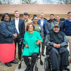 Operation Veteran Home Renovation in Hattiesburg Marked Complete