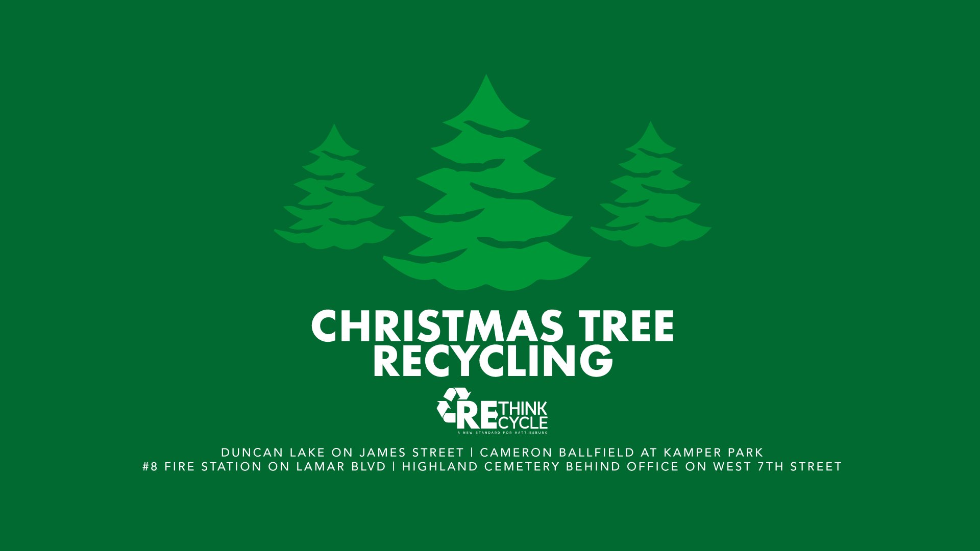 Christmas Tree Recycling Near Me.Christmas Tree Recycling City Of Hattiesburg